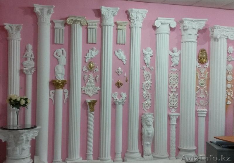 Как сделать декоративные колонны
