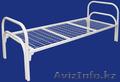 Трёхъярусные металлические кровати для общежитий, кровати металлические дёшево. - Изображение #3, Объявление #1428547