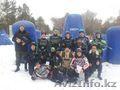 Зимняя игра в пейнтбол в Караганде в клубе Скорпион