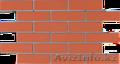 Фасадные панели из фибробетона с имитацией кирпичной кладки.
